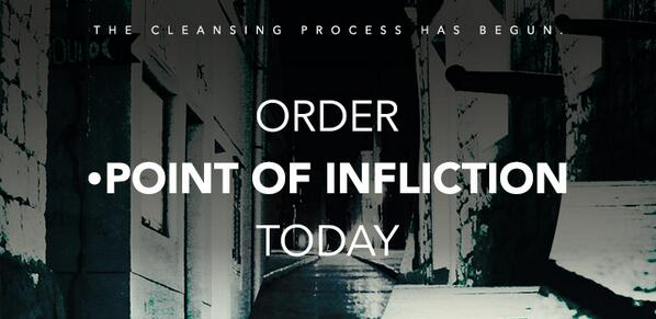 POINT OF INFLICTION has arrived!!!  Order Today: http://t.co/IFqQZlZQEC (For Kindle eBook: http://t.co/BNEdLSteJ7) // http://t.co/h6SZ4PLm8U