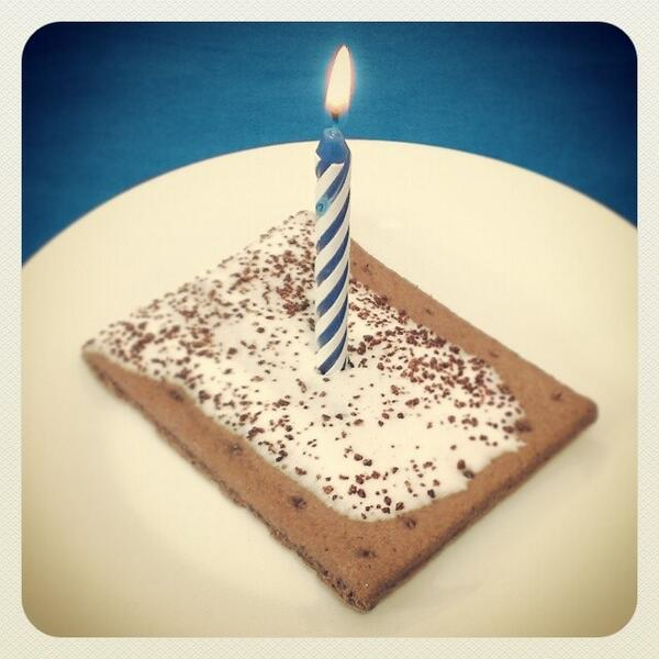 Pop Tarts On Twitter Can We Put A Birthday Candle In Our