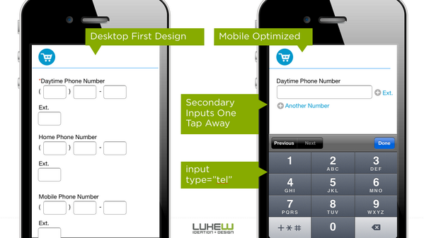 Don't port your desktop UI to mobile. Optimize your UI for mobile. http://t.co/J8WBJmKvrK