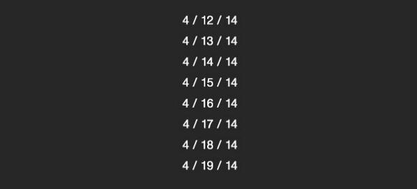 It's palindrome week! Every day is going to read the same backwards #justbecause #sortofmath http://t.co/rGxz6ZPXUl