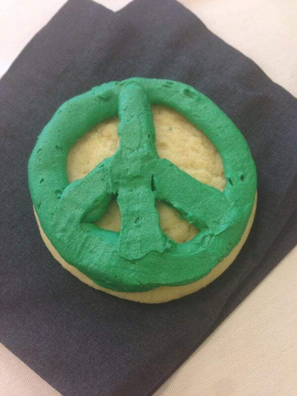 And to everyone who didn't attend the peace education symposium, you missed out on peace cookies :) #etownscad14 http://t.co/wkDlSHfb82