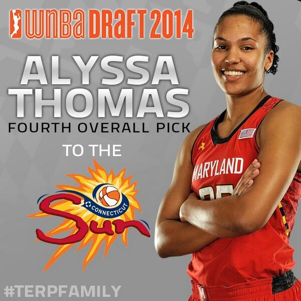 She's always been a ray of Sun for us. Congrats @athomas_25 ! http://t.co/Uv7VEsPkdf