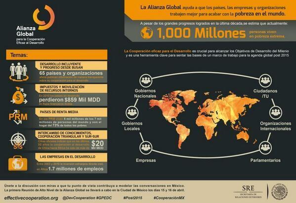 Conoce la Alianza Global para la Cooperación Eficaz al Desarrollo #AGCED @DevCooperation #GPHLM http://t.co/fS9QU8zSnZ