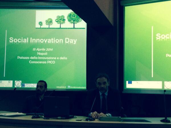 I progetti @PONREC non parlano di #innovazione, la fanno! #socialinnovationday14 http://t.co/A12ShPulX0