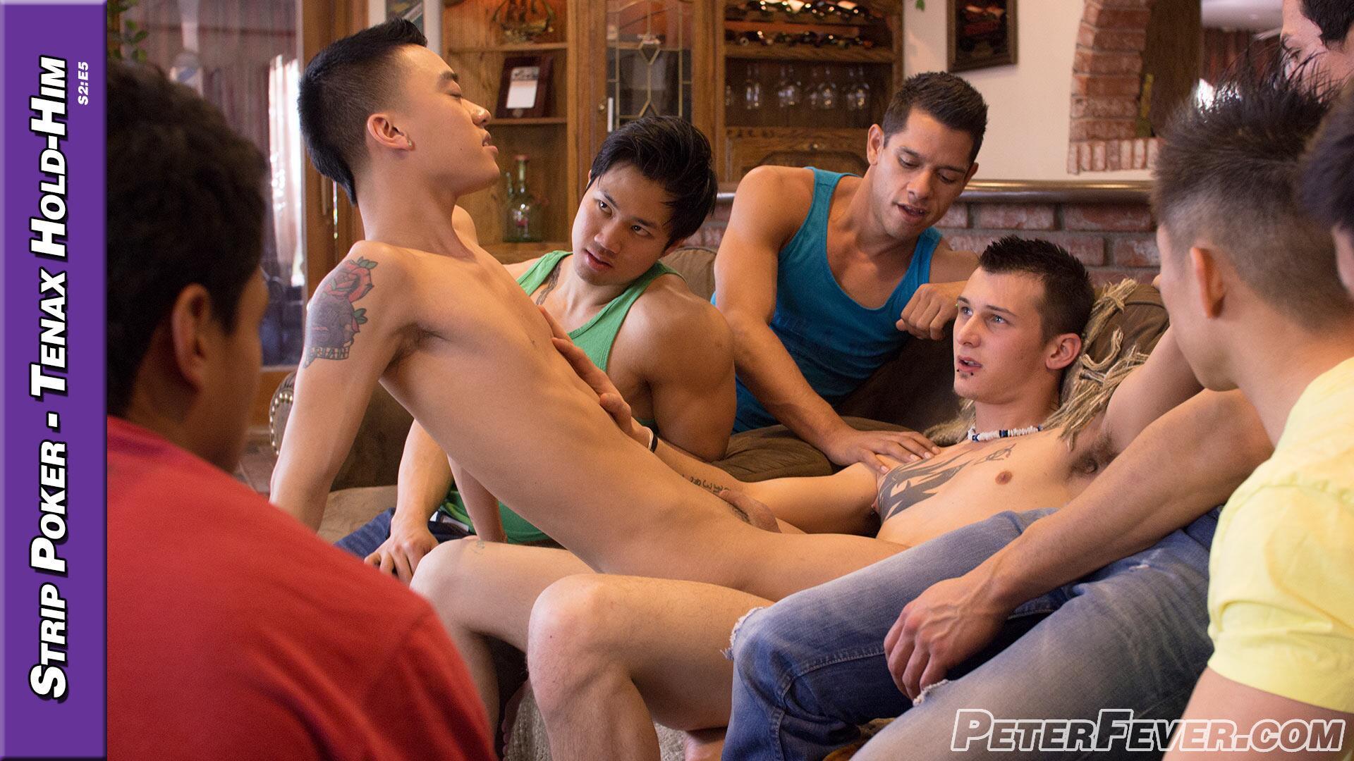 Naked gay men public