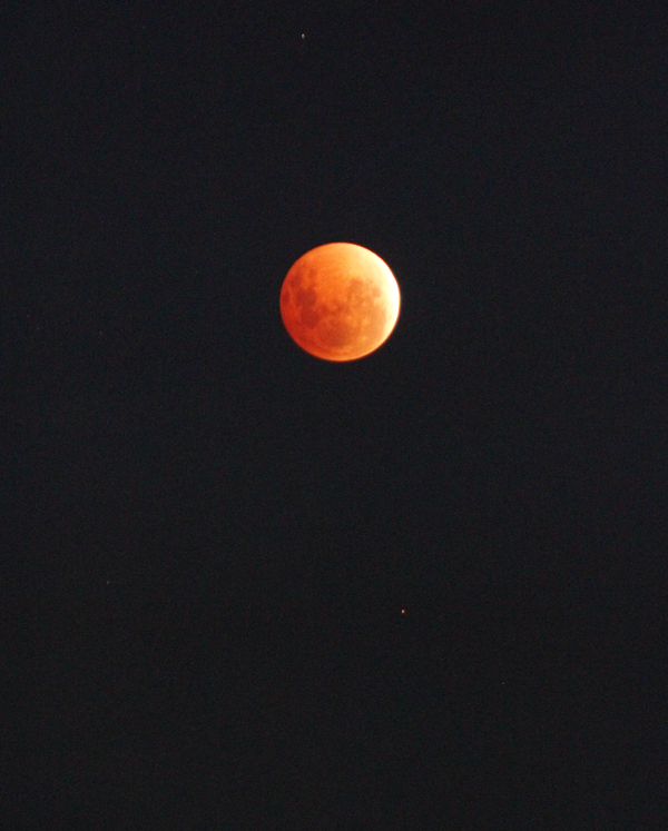 Slightly hazy skies, but we have a lunar eclipse in Launceston @abcnorthtas @abcnews @936hobart @abcnewsTas http://t.co/lpFIvEf3Gc