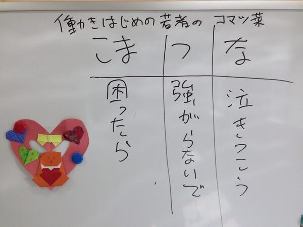 働き始めの若者の小松菜 http://t.co/AR4j8T3M0E