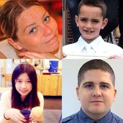We remember these four precious people today and always. #bostonstrong http://t.co/vBrEdUDY8U