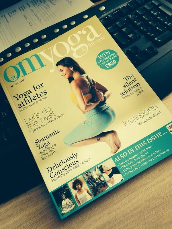Freshly landed in the office!! Sneak peak of my May @OMYogaMagazine cover! Hope to see you @yogashow May 10/11! http://t.co/AgF17Ejkp1
