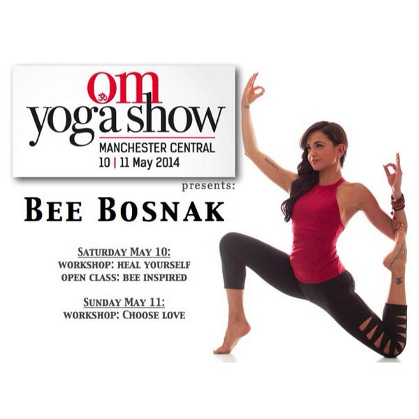 Sign up for my @OMYogaMagazine workshops @yogashow before it sells out! #Manchester #UKyoga http://t.co/z1JrBoSBno