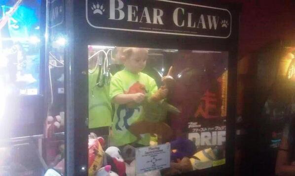 Boy Found Safe Inside Claw Crane Machine
