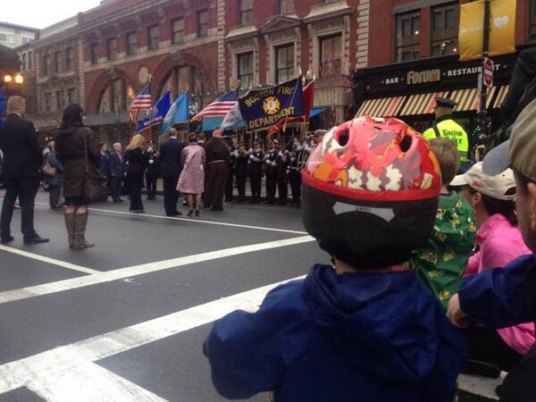 Children look on as Richard children honor memory of their brother Martin. http://t.co/LHZIq7GhvY