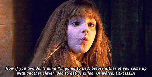 Image result for hermione granger meme I'm going to bed