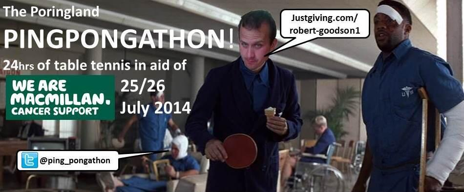 RT @ping_pongathon: @stephenfry Any chance of a RT for a Norfolk charity #pingpongathon? http://t.co/7OuCakKfe5