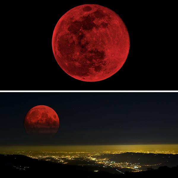 Not my view, but WOW: #lunareclipse http://t.co/XhPhnn7neT