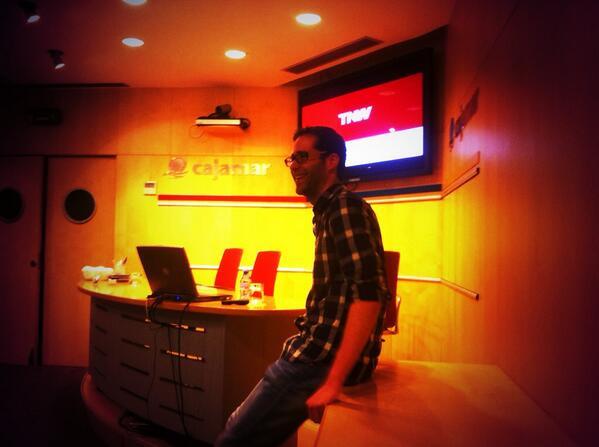 Hoy contamos con @pabloroman en #bbalm. Nos habla de su experiencia trabajando en @TheNextWeb. http://t.co/sjLSe5JyGz