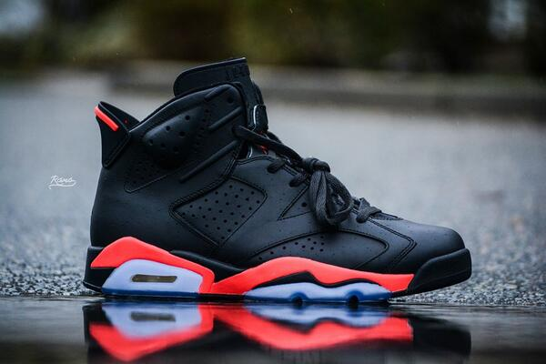 3d2274cbc30 ... Matte Infrared Jordan 6s Customs pic.twitter.com p59OE63wfk ...
