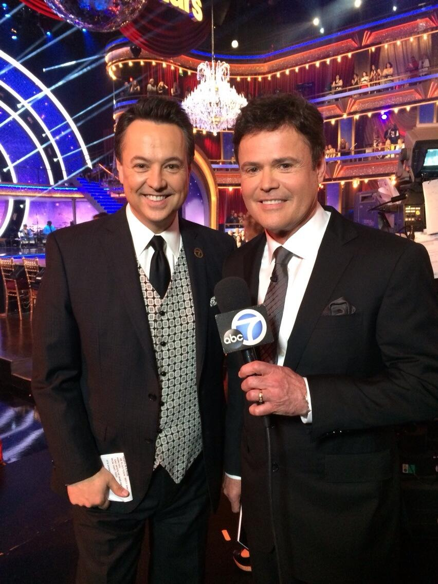 RT @ABC7George: At #DWTS, guest judge @DonnyOsmond said if the show calls again, he'd happily return to judge.  #alwaysapro http://t.co/seP…