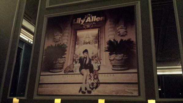 so.... @lilyallen  just invited us to check out her new #SHEEZUS album. and its #banging. one for the summer!! http://t.co/WFLx8ojiYM