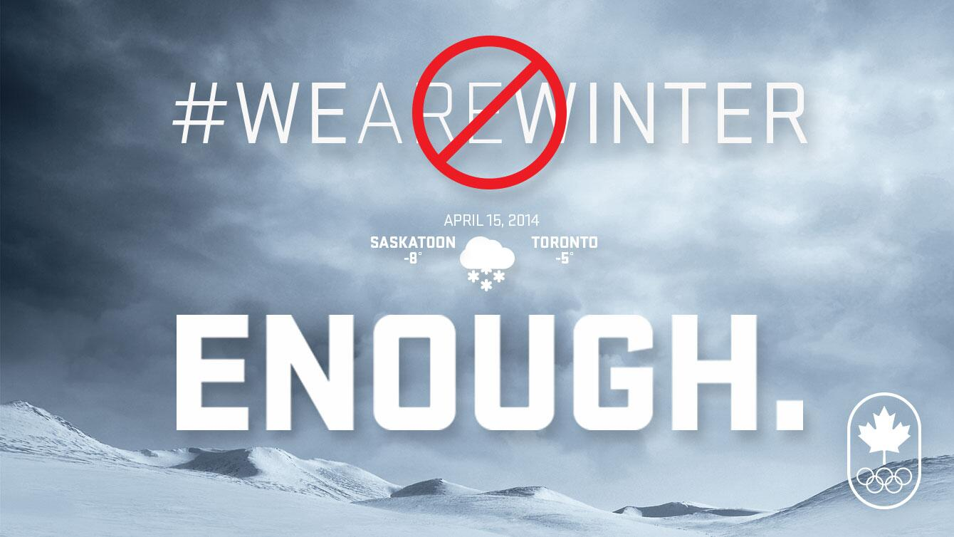 Twitter / CDNOlympicTeam: In solidarity with Canadians ...