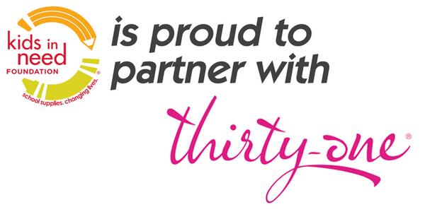 Thank you to our partner @ThirtyOne for providing great things like backpacks to students. #PartnerTuesday http://t.co/3m7ZsbwHiZ