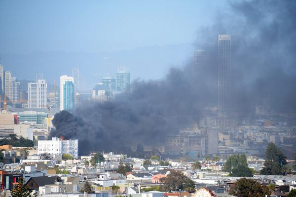 Another view of 14th and Dolores apartment fire: http://t.co/LB4tp8PfQn