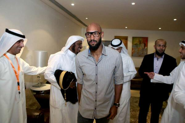 Nicolas Anelka may have blown his Atletico Mineiro move after going to an Islamic conference in Kuwait [Pictures]