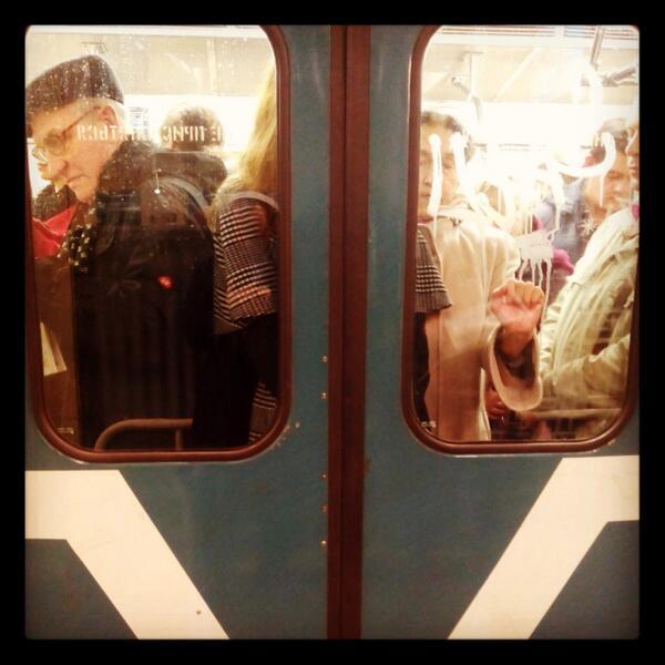 утро в метро гифка варианты