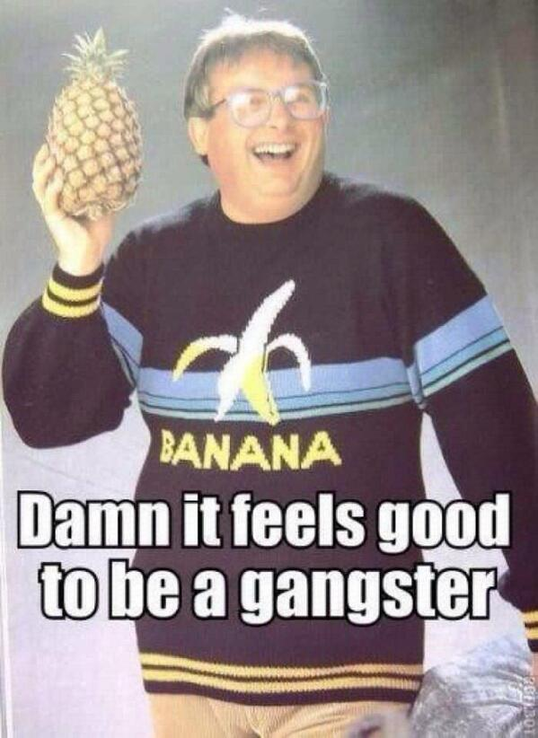 My friend showed me this circulating around the internet. How funny! #GangsterBiggins http://t.co/RbPULVRUk2
