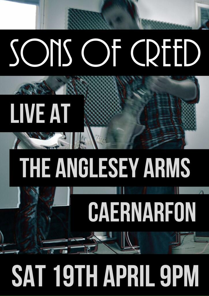 Sons of Creed @ Anglesey Arms, Caernarfon