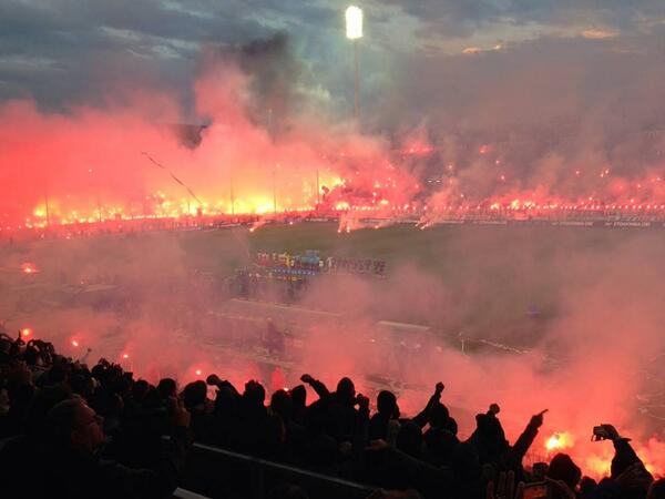 Paok fans