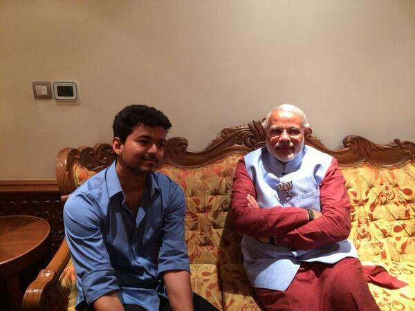 Replying to @actorvijay: Vijay anna with @narendramodi - pic 4 http://t.co/srgWrgHkjl