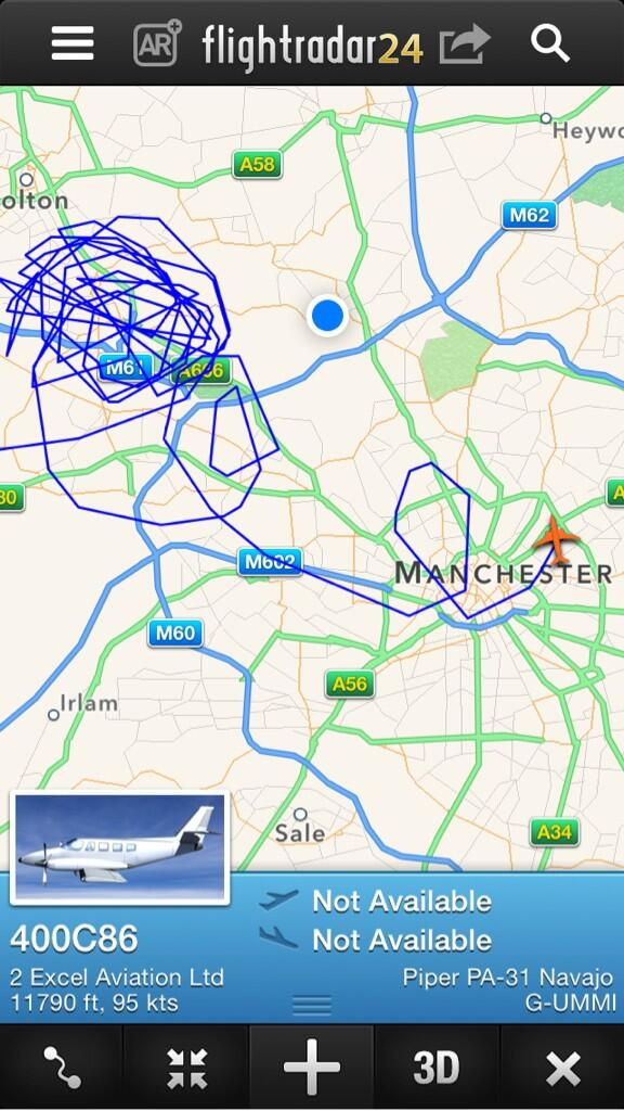 """@FraserMarks: What's happening with this plane over Manchester ??  @manairport http://t.co/S0AqPMOX2K"" he's having a bad day?"