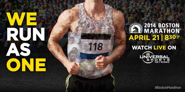 Set your alarm on #PatriotsDay! @BostonMarathon is going to be LIVE on @universalsports April 21 at 8:30am ET! http://t.co/LAGRAbvyrM