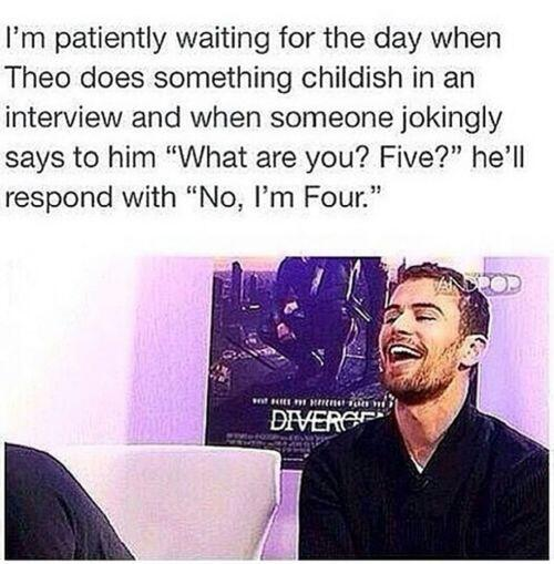 Hahahaha hold on for that day! #TheoJames #Four http://t.co/H9mUJnTSwC