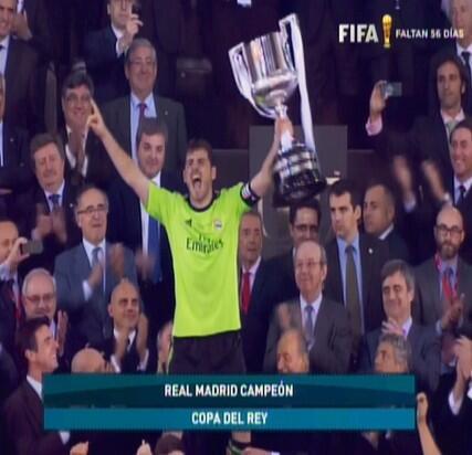 Real Madrid Campeón Copa del Rey 2014 http://t.co/Ngu8yRO5dk