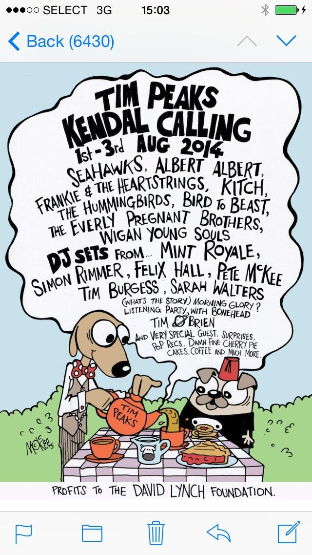 check out @Tim_Burgess and @KendalCalling line up. I'm DJing http://t.co/kkKapNR0Q1
