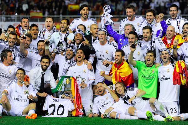 Barcelona tampoco puede con el Real Madrid en Twitter durante la final de la Copa del Rey