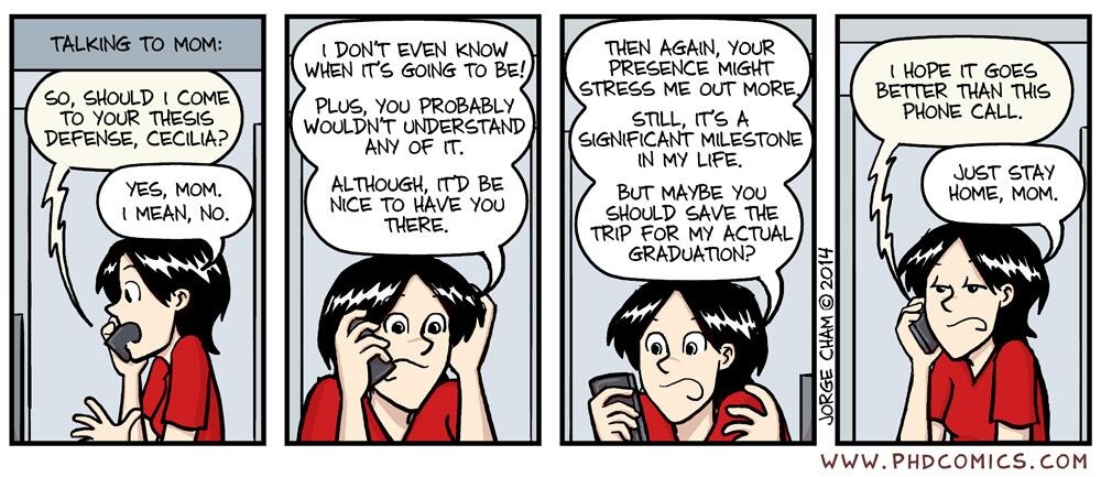 Phd comics thesis defense