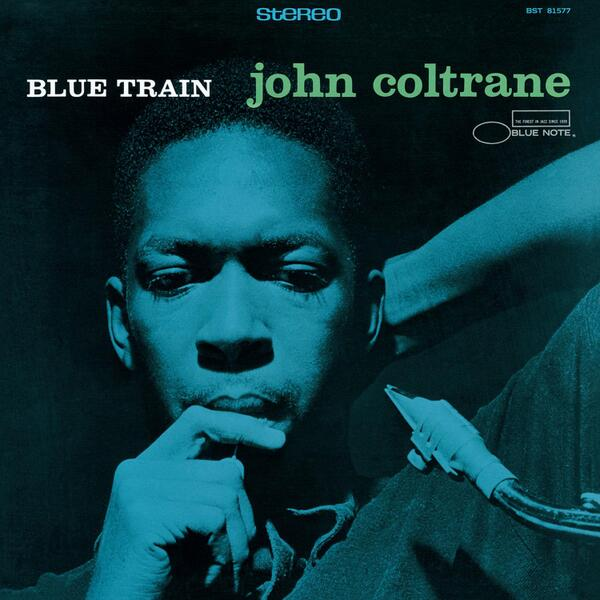 Is John Coltrane sucking on a reed on his Blue Train cover? Nope, it's a lollipop. #BlueNote75 http://t.co/ds0VjEkVcr http://t.co/9mabEkPKJk