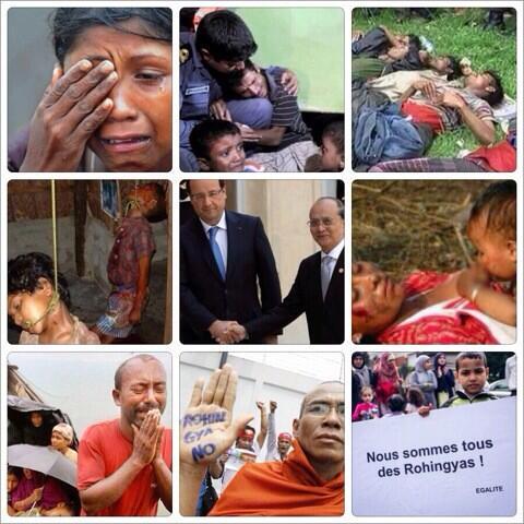 @LeaBaudrit les#Rohingya de #Birmanie ne dont pas happy @genocide #massacre #Pekin Express <br>http://pic.twitter.com/JdFbAS9dQp