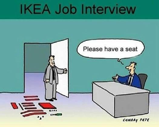 IKEA job interview... http://t.co/9g870skgC3