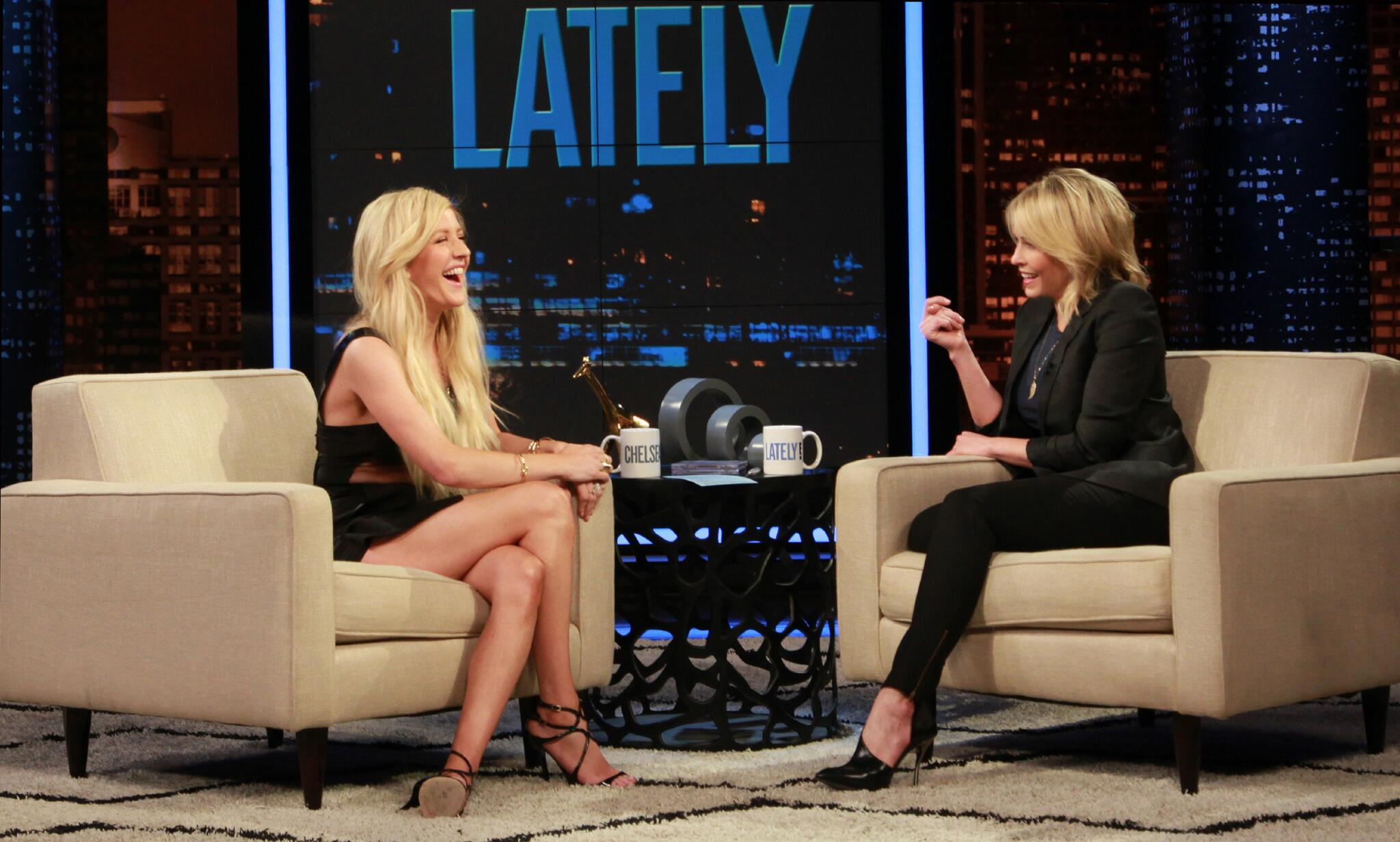 RT @chelseahandler: Tonight, Ellie Goulding. http://t.co/A04lAPxO3y