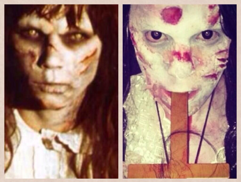 RT @MariaFSupport: Throwback: @MariaFowler at Halloween 😱 http://t.co/kiWOuIS4Zo