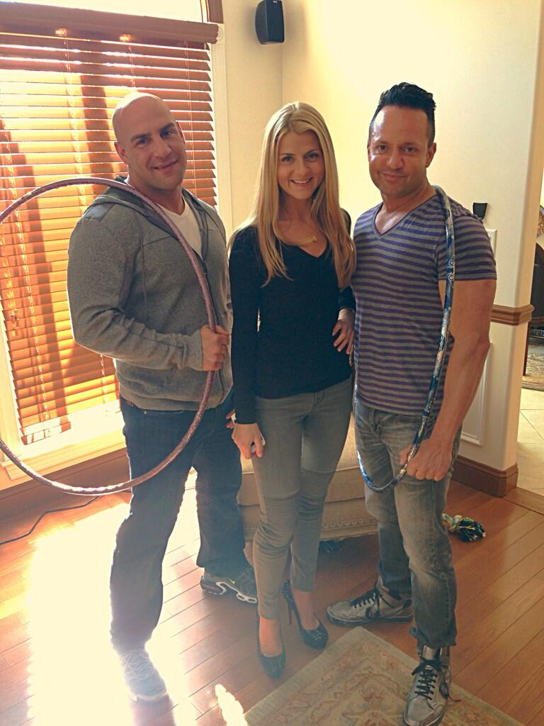 RT @frankiestylze: Great day filming w/ @petey_d_  & @lauren_pesce #TheSorrentinos coming soon to @TVGN http://t.co/2l1q3obOZu