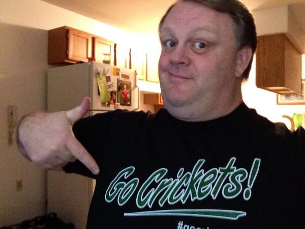 #ptchat The power of @joesanfelippofc 's #GoCrickets hashtag is everywhere :-) http://t.co/PNtTHo6wVU
