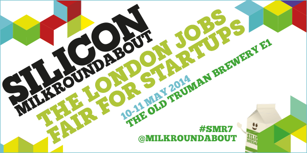 Looking for a new job in a London startup? Come to @Milkroundabout on 10-11 May http://t.co/M6TvSyYpj8 @cassiewerber http://t.co/BLRipt4dbA