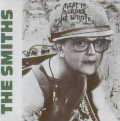 Meat is Murder She Wrote! http://t.co/GwMDJPnhc6 (via @lecooldublin)