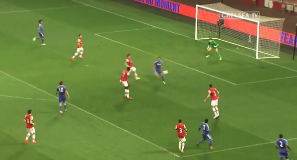 Bl ODZsCEAAtWNJ Official video: Lewis Bakers wonder goal for Chelsea U21s v Arsenal