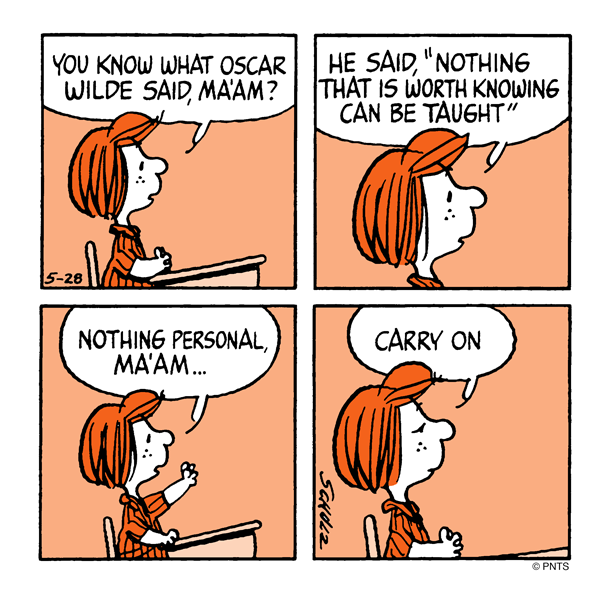 """PEANUTS On Twitter: """"Class With Peppermint Patty. Http://t"""